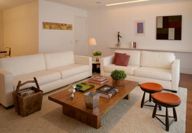 Dispor os móveis de maneira harmônica é o ideal