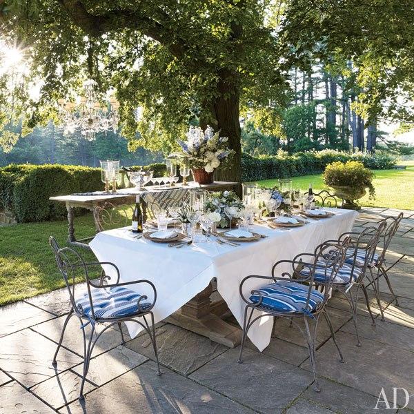 O Jantar no terraço