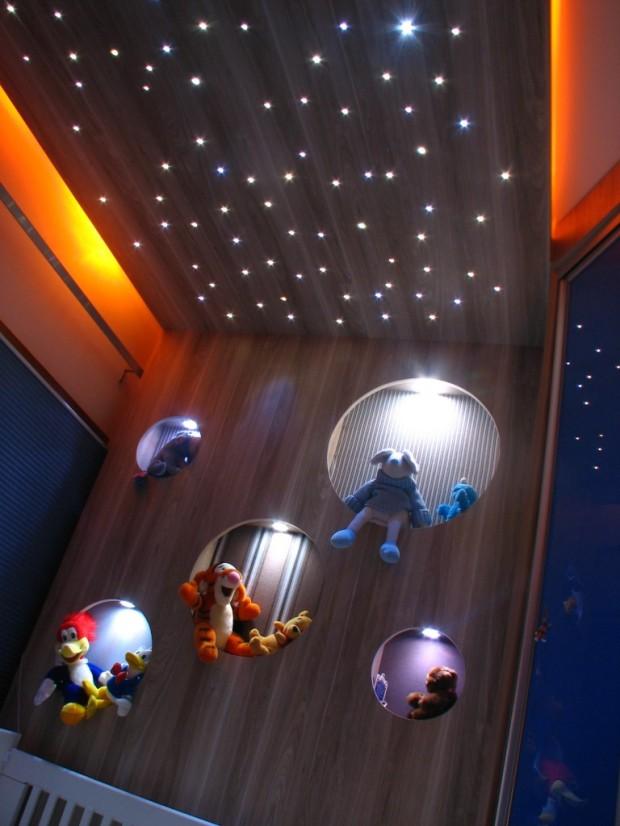 Modelo de Céu Estrelado criado pela arquiteta Daniele Cardoso.