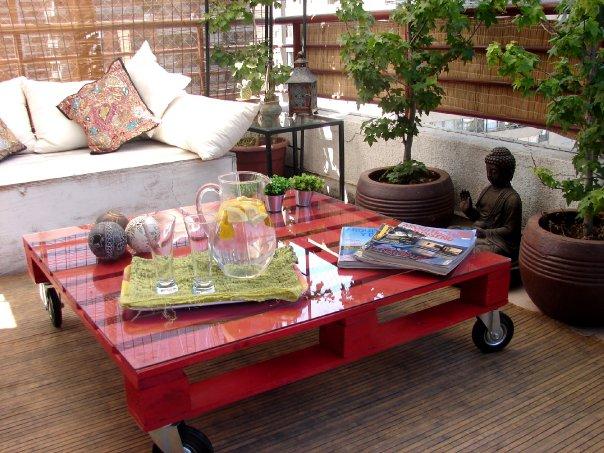 mesa de centro de pallet 5